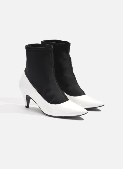 Bottines et boots Made by SARENZA Bataclan #6 Blanc vue derrière