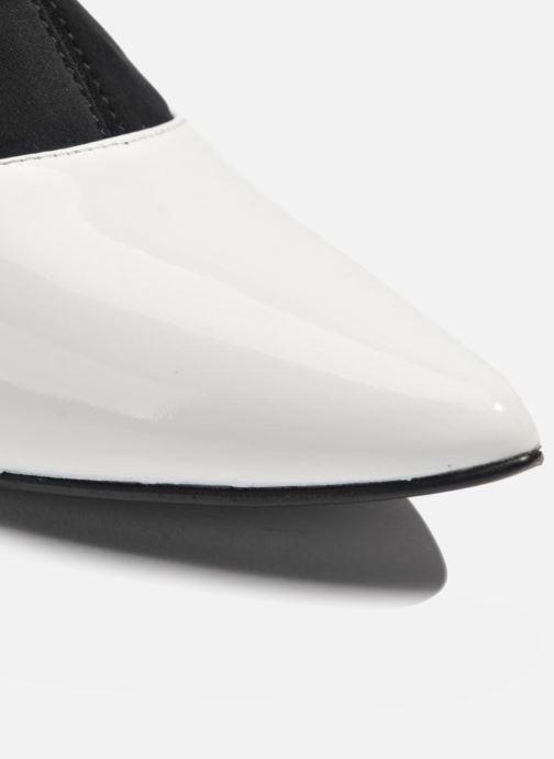 Bottines et boots Made by SARENZA Bataclan #6 Blanc vue haut
