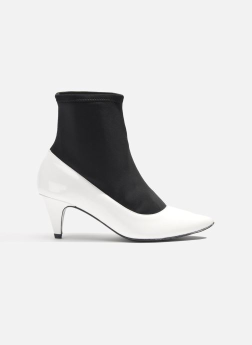 Ankle boots Made by SARENZA Bataclan #6 White detailed view/ Pair view