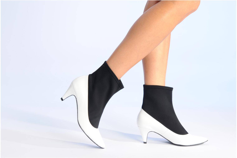 Boots en enkellaarsjes Made by SARENZA Bataclan #6 Wit onder