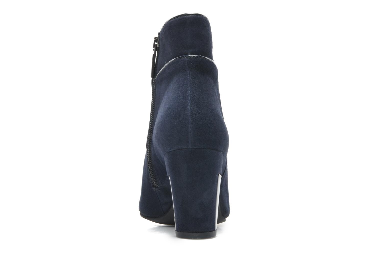 Bottines et boots Perlato Piwi Bleu vue droite
