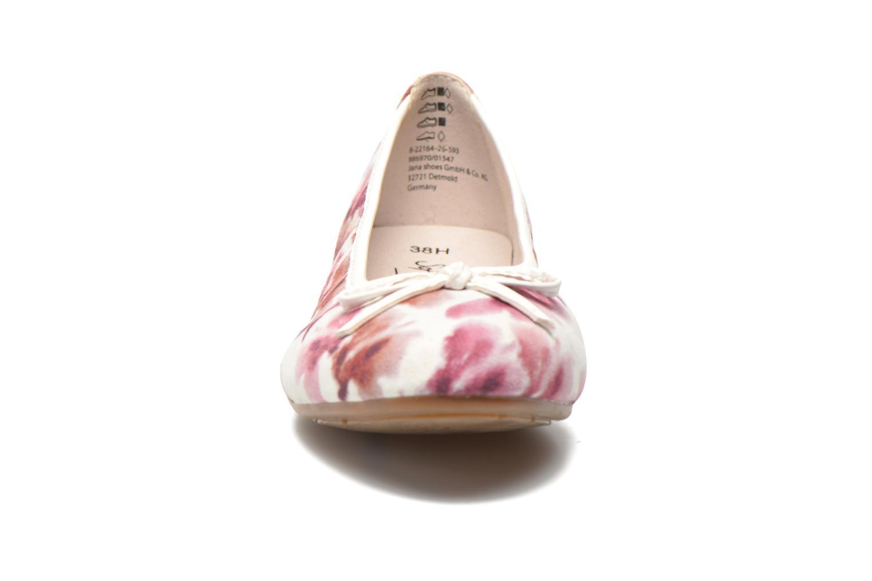 Ballerines Jana shoes Lila Rose vue portées chaussures