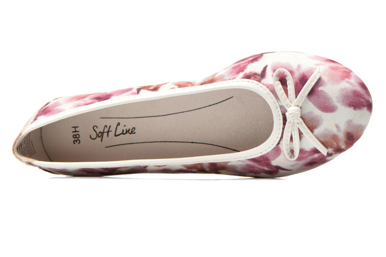 Ballerines Jana shoes Lila Rose vue gauche