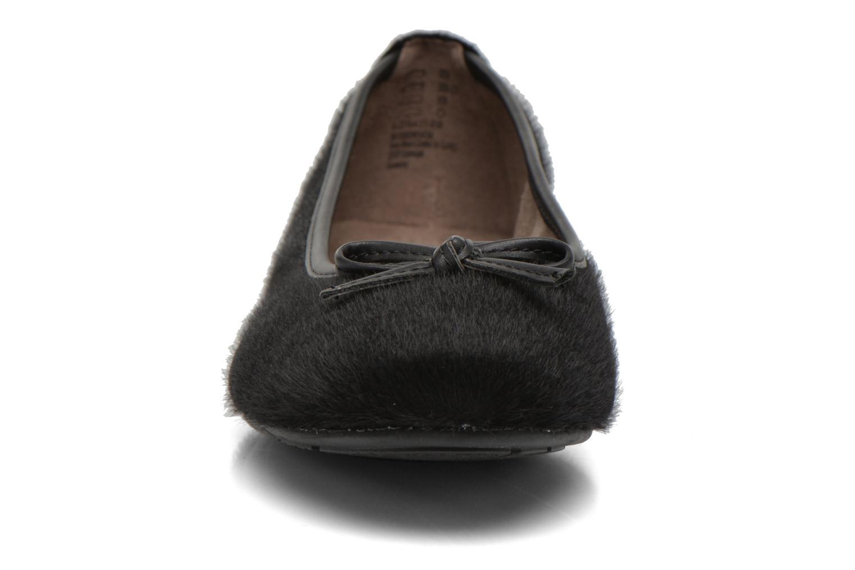 Ballerines Jana shoes Lila Noir vue portées chaussures