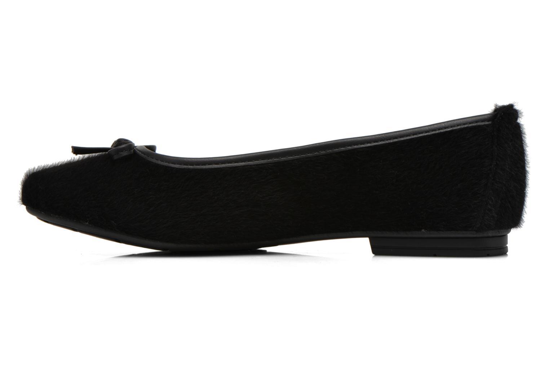 Ballerines Jana shoes Lila Noir vue face
