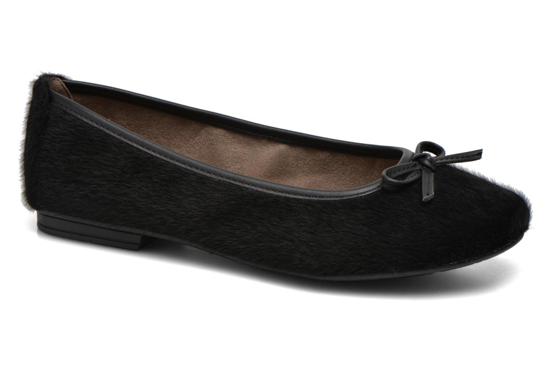 Ballerines Jana shoes Lila Noir vue détail/paire