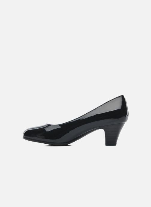 Pumps Jana shoes Anis schwarz ansicht von vorne