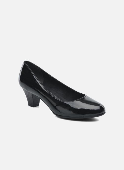 Escarpins Jana shoes Anis Noir vue détail/paire