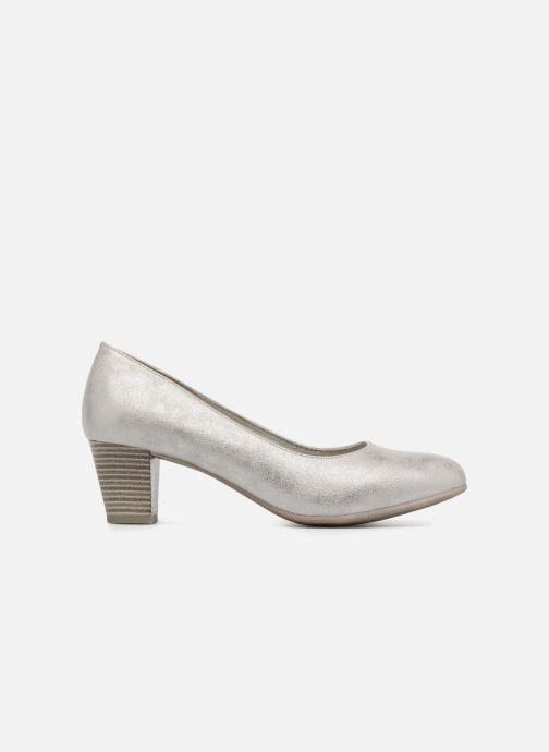 Pumps Jana shoes Anis silber ansicht von hinten