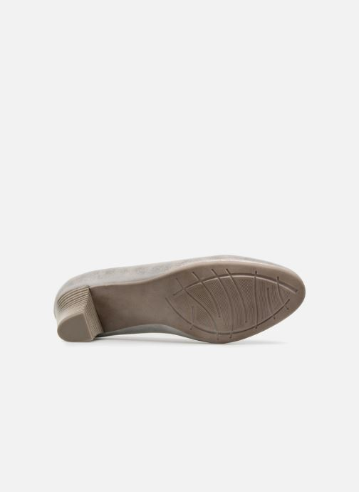 Pumps Jana shoes Anis silber ansicht von oben