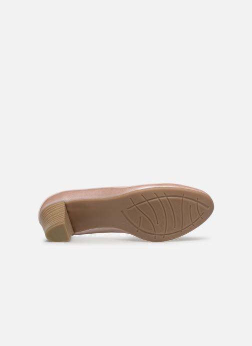 Escarpins Jana shoes Anis Rose vue haut
