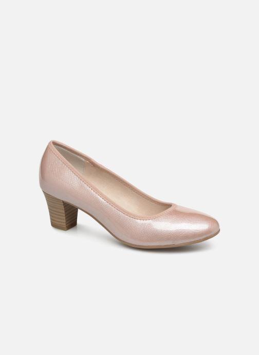 Escarpins Jana shoes Anis Rose vue détail/paire