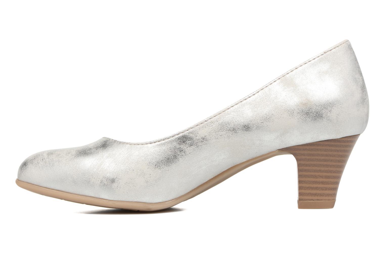 Escarpins Jana shoes Anis Argent vue face