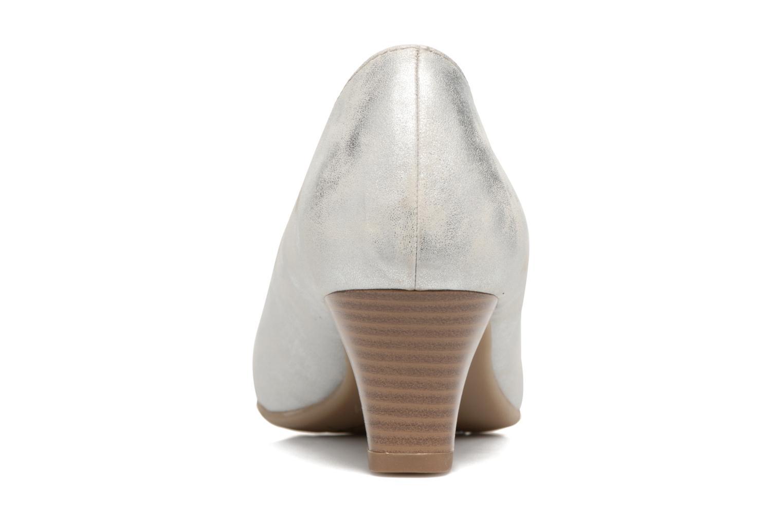 Escarpins Jana shoes Anis Argent vue droite