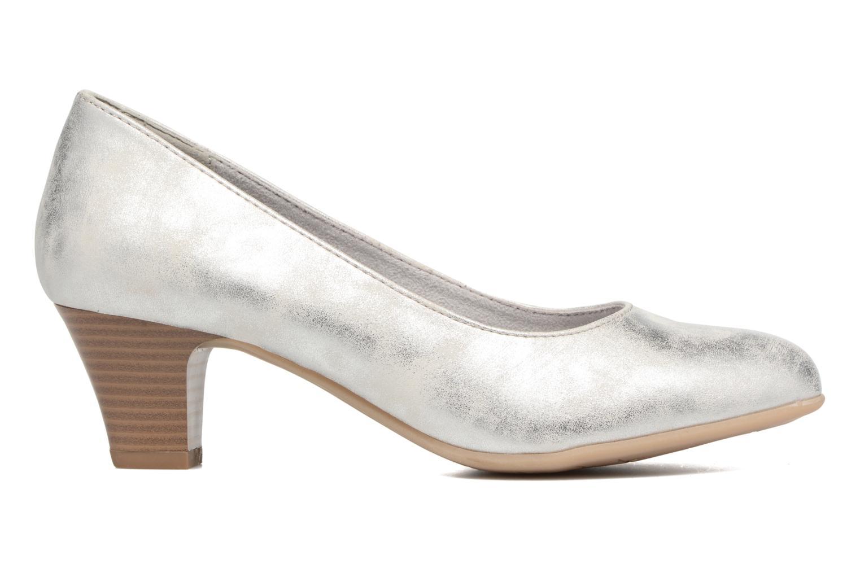 Escarpins Jana shoes Anis Argent vue derrière