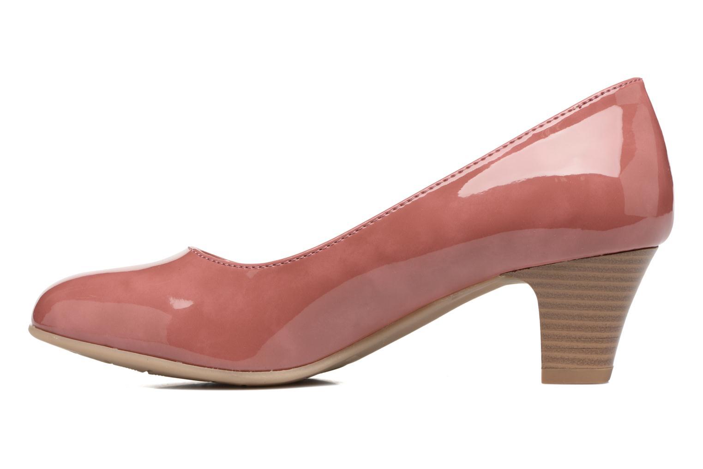 Escarpins Jana shoes Anis Rose vue face