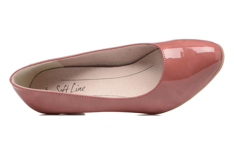 Escarpins Jana shoes Anis Rose vue gauche