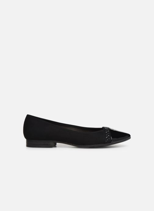 Ballerines Jana shoes Glitter Noir vue derrière
