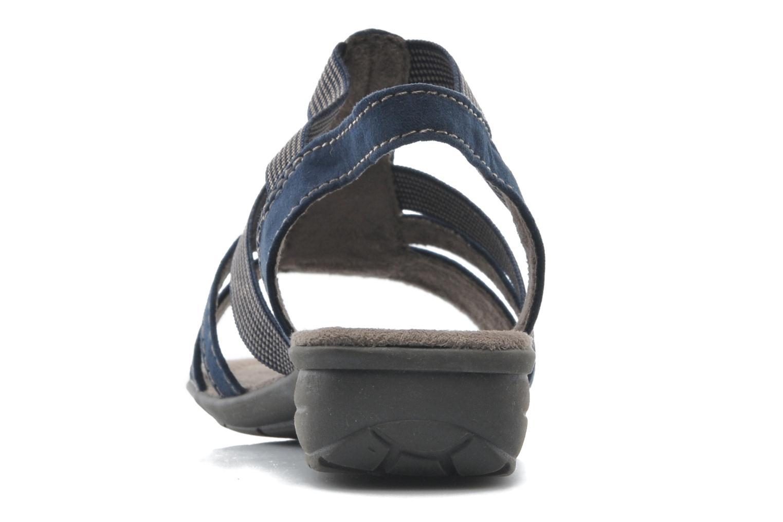 Sandales et nu-pieds Jana shoes Helen Bleu vue droite