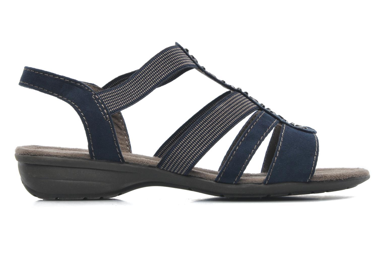 Sandales et nu-pieds Jana shoes Helen Bleu vue derrière