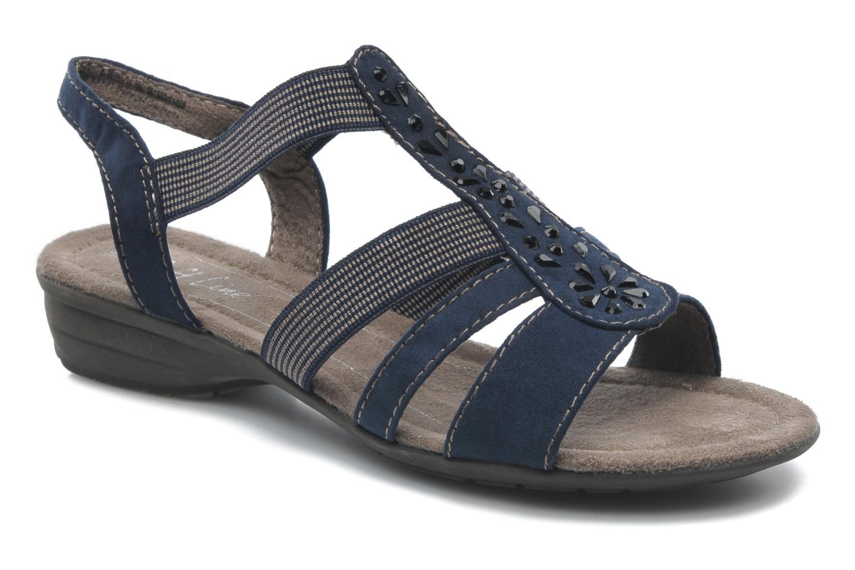 Sandales et nu-pieds Jana shoes Helen Bleu vue détail/paire