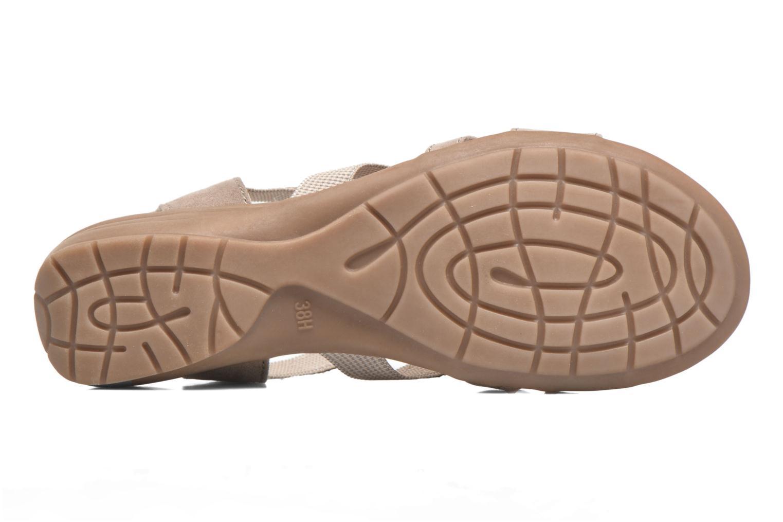 Sandales et nu-pieds Jana shoes Helen Beige vue haut