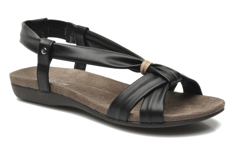 Sandales et nu-pieds Jana shoes Jana Noir vue détail/paire