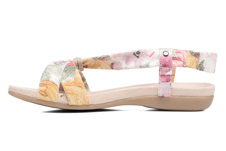 Sandales et nu-pieds Jana shoes Jana Multicolore vue face