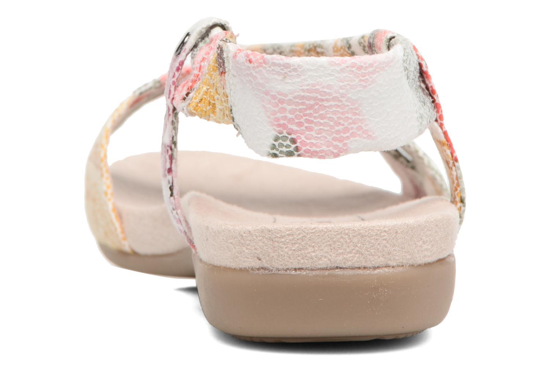 Sandales et nu-pieds Jana shoes Jana Multicolore vue droite
