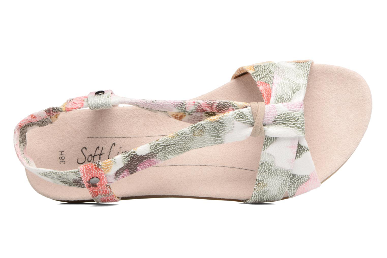 Sandales et nu-pieds Jana shoes Jana Multicolore vue gauche