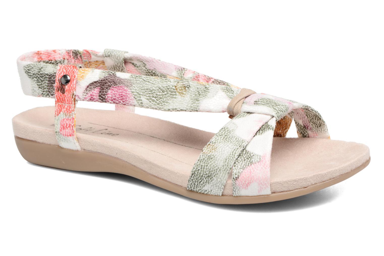Sandales et nu-pieds Jana shoes Jana Multicolore vue détail/paire