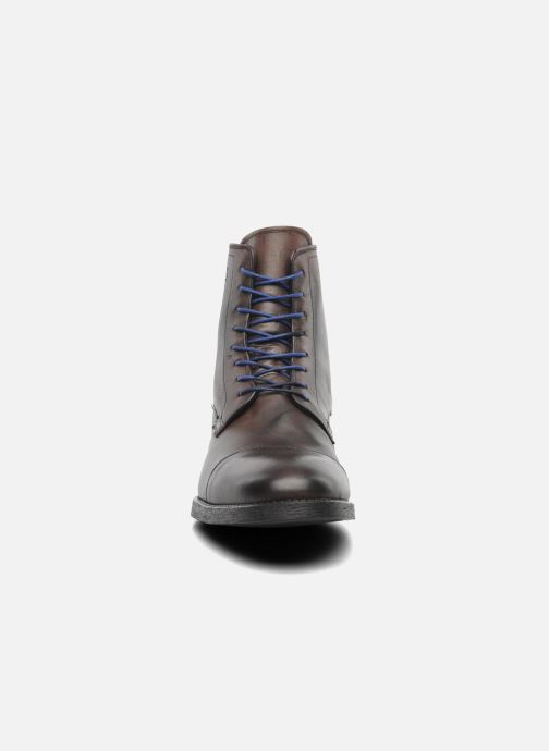 Bottines et boots Azzaro virtuose Marron vue portées chaussures