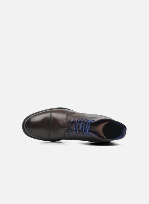 Bottines et boots Azzaro virtuose Marron vue gauche