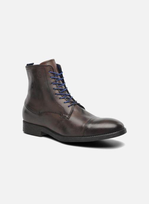 Bottines et boots Azzaro virtuose Marron vue détail/paire