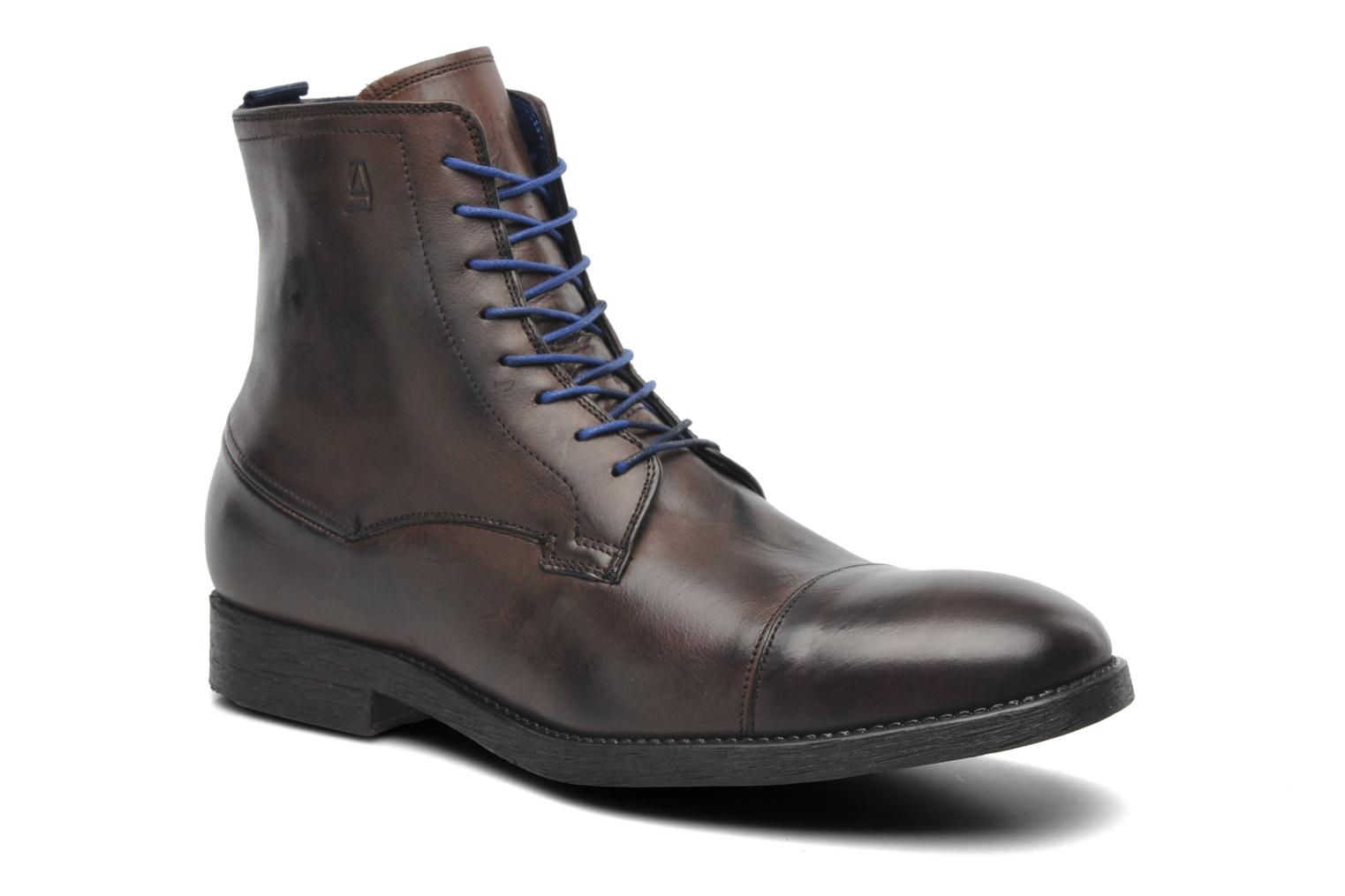 Bottines et boots Azzaro virtuose Marron vue détail/paire