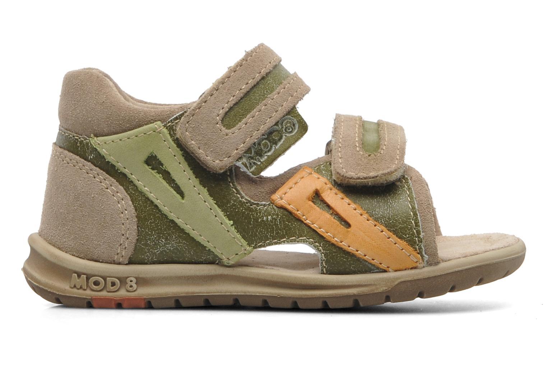 Sandales et nu-pieds Mod8 ILUX Vert vue derrière