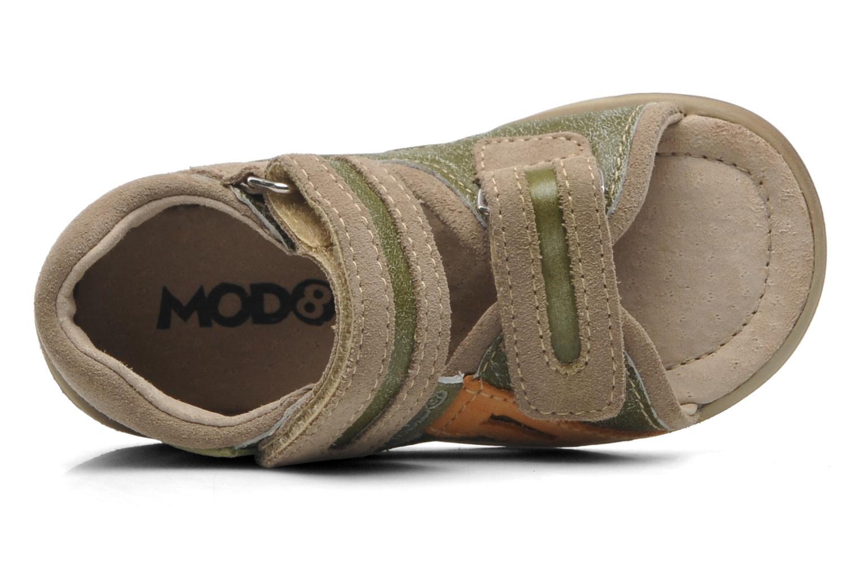 Sandales et nu-pieds Mod8 ILUX Vert vue gauche