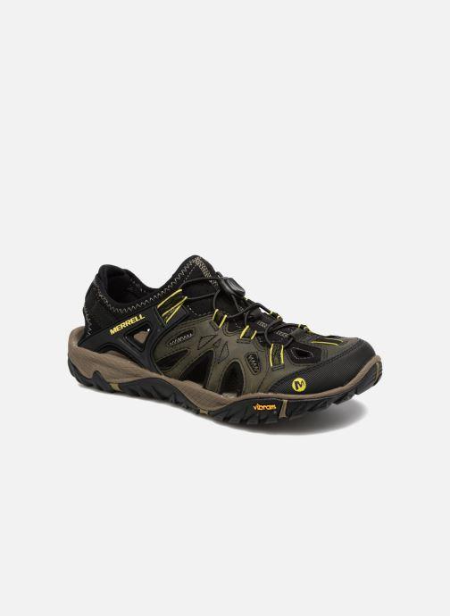 Chaussures de sport Merrell Allout Blaze Sieve Noir vue détail/paire