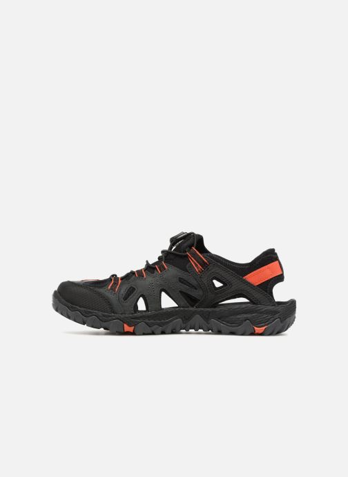 Chaussures de sport Merrell Allout Blaze Sieve Gris vue face