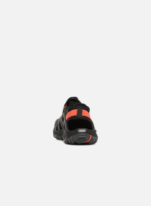 Chaussures de sport Merrell Allout Blaze Sieve Gris vue droite