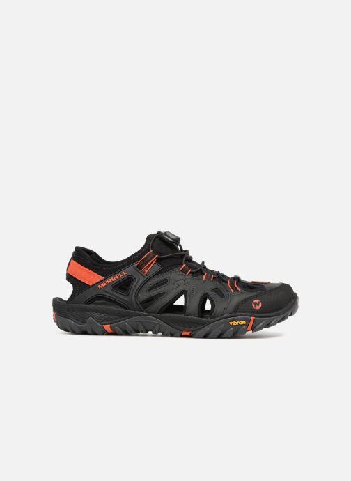 Chaussures de sport Merrell Allout Blaze Sieve Gris vue derrière