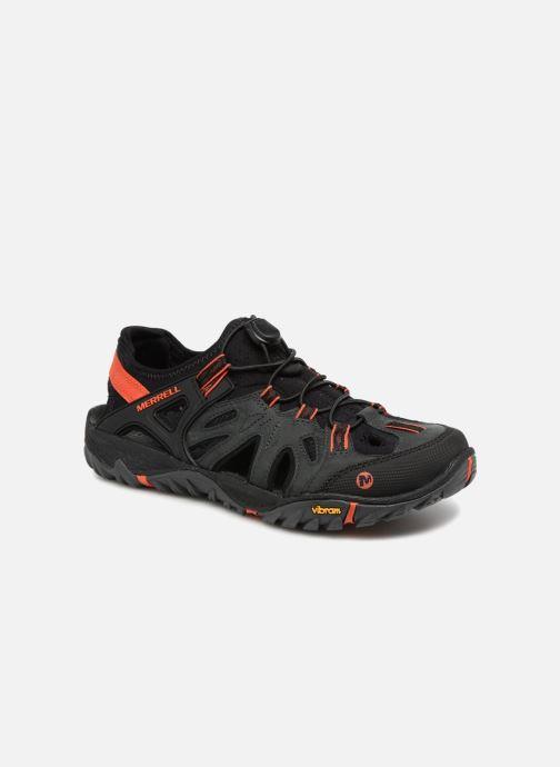 Chaussures de sport Merrell Allout Blaze Sieve Gris vue détail/paire