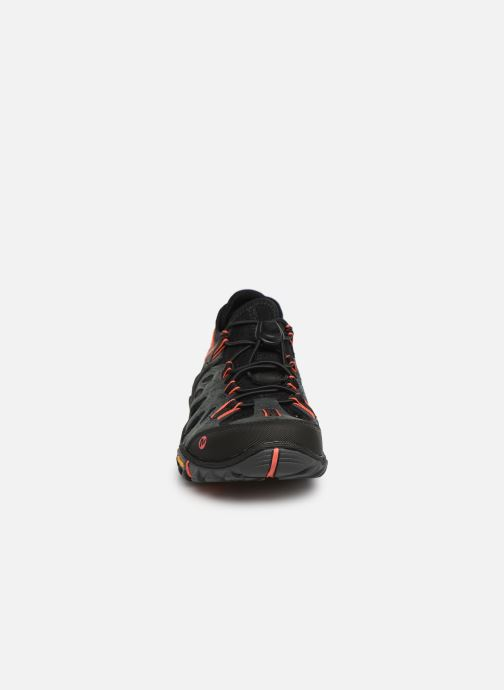 Baskets Merrell Allout Blaze Sieve W Noir vue portées chaussures