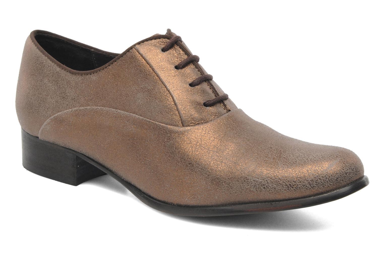 Chaussures à lacets Elizabeth Stuart Estac 310 Marron vue détail/paire