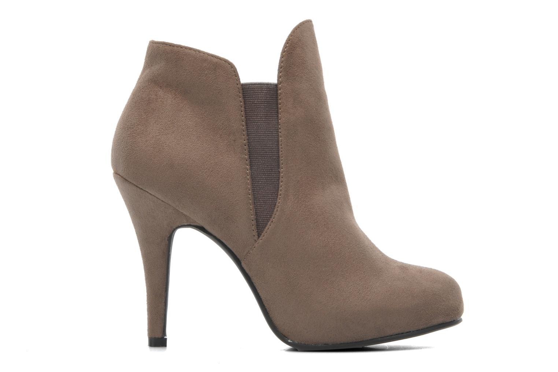 Bottines et boots Divine Factory D-raille Gris vue derrière