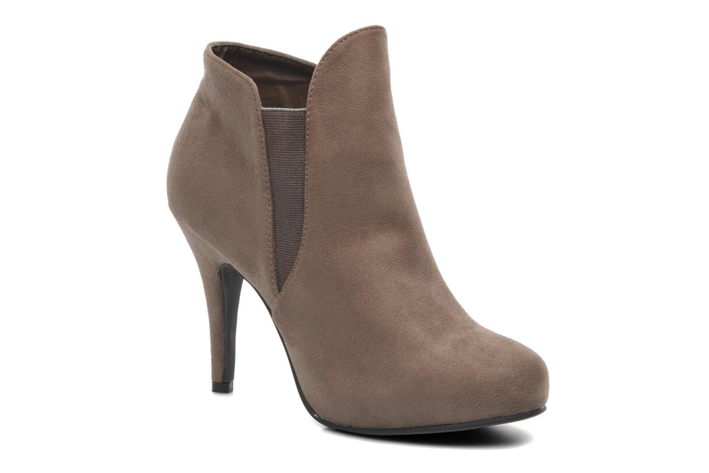 Bottines et boots Divine Factory D-raille Gris vue détail/paire