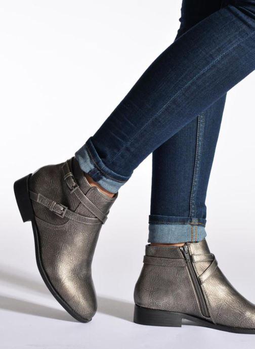 Boots en enkellaarsjes Divine Factory D-cable Zwart onder