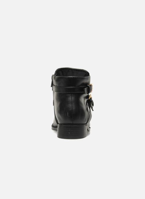 Boots en enkellaarsjes Divine Factory D-cable Zwart rechts