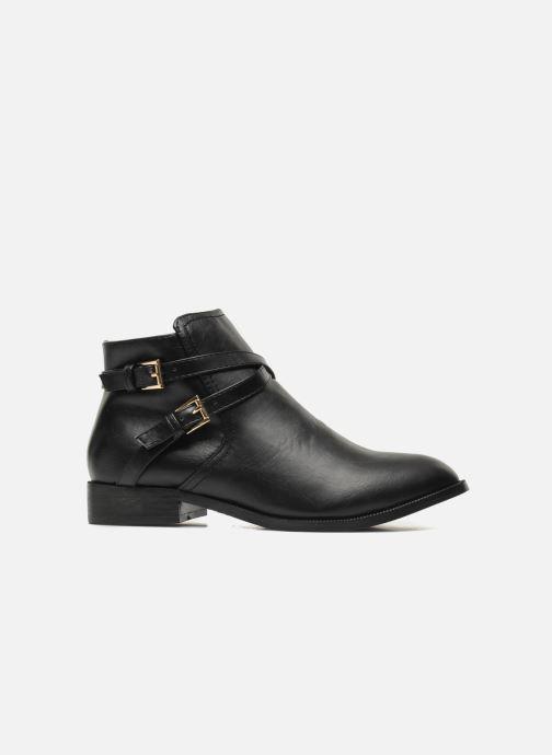 Boots en enkellaarsjes Divine Factory D-cable Zwart achterkant