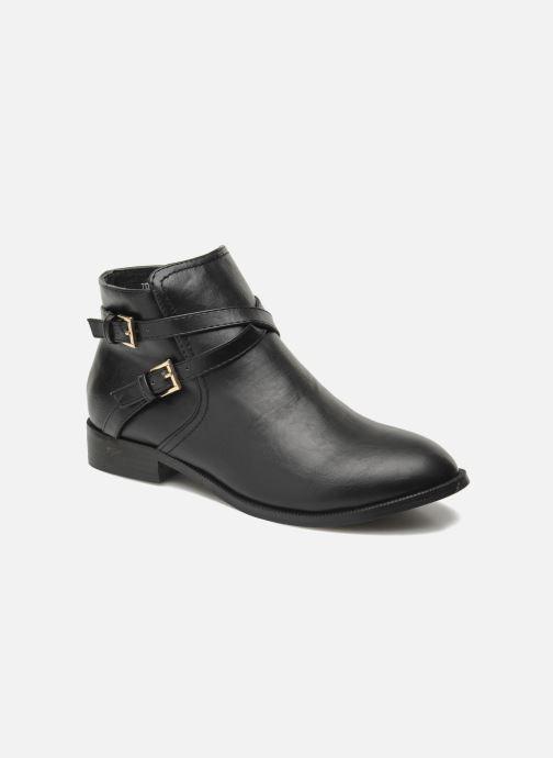 Boots en enkellaarsjes Divine Factory D-cable Zwart detail